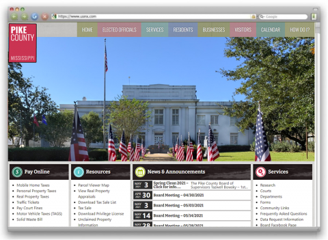 Pike County website